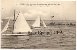 44 - PAIMBOEUF - Souvenir De La Grande Semaine Maritime - 1908 - Le Torpilleur Qui A Accompagné Les Régates +++++ RARE - Paimboeuf