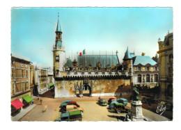 """11393  CPM LA ROCHELLE  : Hotel De Ville """" Voitures Anciennes """"  , Superbe Carte Photo !! - La Rochelle"""