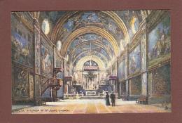 MALTE - Intérieur De L'Eglise St John - Malta