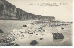 763 - SOTTEVILLE-SUR-MER - LES FALAISES ALLANT SUR VEULES-LES-ROSES - France