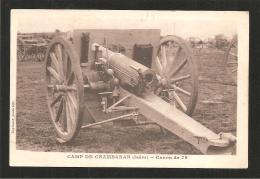 Camp De Chambaran Canon De 75 - Materiaal