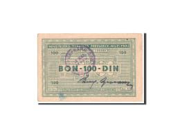 Croatie, Zemun, Sajmiste, 100 Dinara, 1941-1944, Pick UNL - Croatia