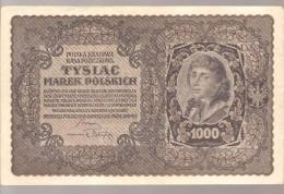 TYSLAC, MAREK POLSKICH, 1000, 1919 - Pologne