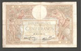 CENT FRANCS  BU.22-9-1938-BU - 1871-1952 Anciens Francs Circulés Au XXème