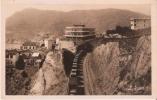 CERBERE COTE VERMEILLE GRAND HOTEL BELVEDERE ET ROUTE D´ESPAGNE (TRAIN CIRCULANT) - Cerbere