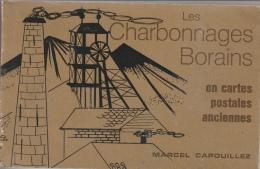 Superbe Livre Regroupant Tout Les Charbonnages Borains, Vues D´anciennes Cartes Postale Et Photos Et Textes - 1978 - Mines