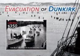 LIBERIA 2015 - 2eme Guerre Mondiale, évacuation De Dunkerck En 1940 - BF Neuf  // Mnh - WW2