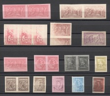 Greece Olympics Olympic JEUX OLYMPIQUES 1906 21v PROOFS. RARE!!!