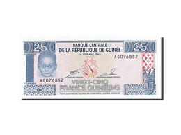 Guinea, 25 Francs, 1985, 1985, KM:28a, NEUF - Guinée