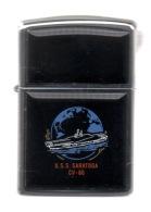 ZIPPO - U.S.S. SARATOGA - CV-60 - Luxe Noir - 1997 - Réf, 616 - Zippo