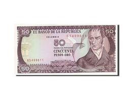 Colombie, 50 Pesos Oro, 1984-1986, KM:425a, 1984-10-12, NEUF - Colombie