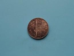 1 DAALDER BREA EN GRIENE - TSIIS BUTER IT SKUTSJE ( 12.1 Gr. / Zilverkleur / Details, Zie Foto ) ! - Netherland