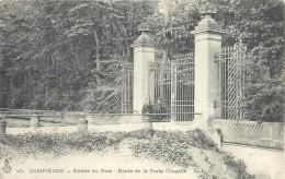 OISE - 60 - 2016 TOP - COMPIEGNE - Entrée Du Parc ( Rte De Porte Chapelle - Compiegne