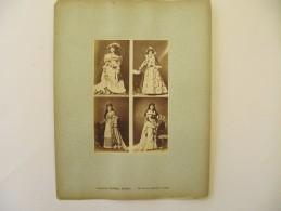 CALAVAS Frères - Actrices Théatre , Opéra - Photo  Contrecollée Sur Carton - Photographs