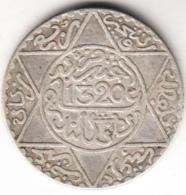 MARRUECOS 1902(1320). 1/4 DE RIAL. .PLATA ESCASA  . EBC  CN4469 - Maroc