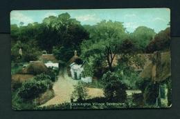 ENGLAND  -  Cockington Village  Unused Vintage Postcard - England