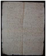 Bordeaux Fructidor An 2, Acte De Justice De Dercas Contre Le Citoyen Rafer, Marchand à Bordeaux - Manuscrits