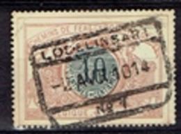 Lodelinsart N°1  - 1914 - Chemins De Fer