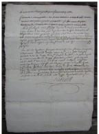 Agen 26 Floréal An 11, Convocation Devant Le Juge De Paix (Lot -et-Garonne) - Manuscrits