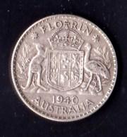 Australia 1940 Florin - Monnaie Pré-décimale (1910-1965)