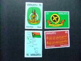 VANUATU 1981 1º ANNIVERSAIRE De L´INDEPENDANCE Yvert Nº 631 / 634 ** MNH - Vanuatu (1980-...)