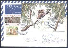 Australia 2000 Air Mail Cover: Fauna Bear Bär Oso Orso Ours: Koala (Phascolarctos Cinereus); Bridges - Bears