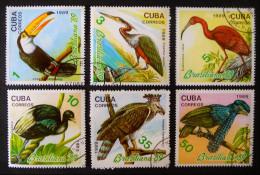 """BRASILIANA'89"" EXPO PHILATELIQUE 1989 - OBLITERES - YT 2946/51 - MI 3300/05 - Cuba"