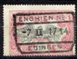 Enghien-Edingen N°1  - 1914 - Chemins De Fer