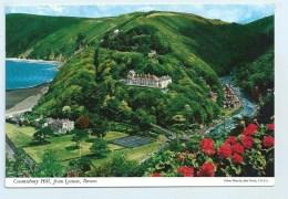 Countisbury Hill, From Lynton- John Hinde - England
