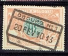 Obourg N°1  - 1913 - Chemins De Fer