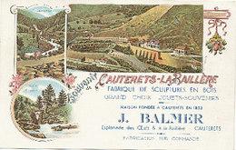 Cauterets-La Baillère - Fabrique De Sculptures En Bois - Cauterets
