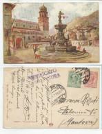 TRENTO (074) - Piazza Del Duomo - Fp/Vg 1919 - Trento
