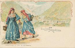 Souvenir Des Pyrénées - Marchande De Lait à Cauterets - Cauterets