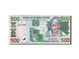 Sierra Leone, 500 Leones, 1995-2000, 2003-03-01, KM:23c, NEUF - Sierra Leone
