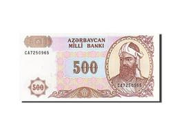 Azerbaïdjan, 500 Manat, 1993-1995, KM:19b, Undated (1993), NEUF - Azerbaïdjan
