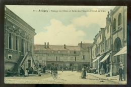 France  :  Attigny  -  Passage Du Dôme - Attigny