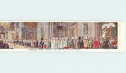 VATICAN - L'imponente Corteo Pontificio Nella Basilica Di S. Pietro In Roma; Carte Triple. - Vatican