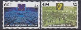 Ireland 1994 European & Irish Parlament 2v Used (29933) - 1949-... Republiek Ierland