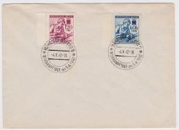 BRIEF MÄHRISCH-OSTRAU - BÖHMEN UND MAHREN - WEHRKAMPFTAGE DER SA 1942 - DEUTSCHES IIIe REICH - NURSE - INFIRMIERE - Allemagne