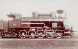 LOCOMOTIVE 180117  -CARTE PHOTO-N° 1631 - Trains
