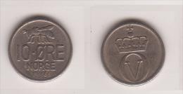 Norwegen , 10 Öre , 1966 ( G.Schön 59/2 ) - Norwegen