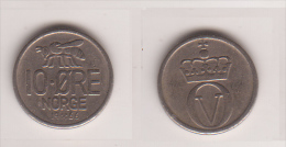 Norwegen , 10 Öre , 1966 ( G.Schön 59/2 ) - Norvegia