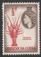 Tristan Da Cunha. 1954 QEII. ½d MH. SG 14 - Tristan Da Cunha