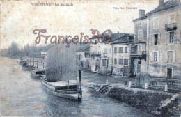 (40) Peyrehorade - Vue Des Quais Gabarre - 2 SCANS - Peyrehorade
