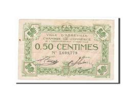 France, Abbeville, 50 Centimes, TTB, Pirot:1-13 - Chamber Of Commerce