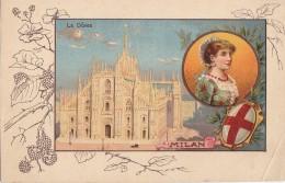 Italie - Milano - Dôme Duomo - Blason - Femme Costume - Mûres Mûrier - Milano (Milan)