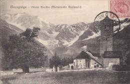 Italie - Macugnaga - Chiesa Vecchia Monumento Nazionale - 1919 Cachet Vanzone Con San Carlo - RARE - Verbania