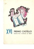 T-SANGUINETTO-BROCURE XVI PREMIO CASTELLO( CONC.NAZ.DI LETTERATURA PER RAGAZZI)PROGRAMMA MANIFESTAZIONE- - Verona