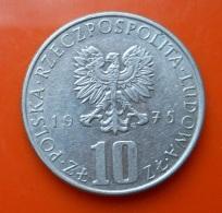 Poland 10 Zlotych 1975 - Pologne