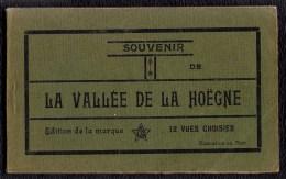 Carnet 12 X CPA - Souvenir De La VALLEE DE LA HOËGNE - Carnet De 12 Cartes Vues Legia - België